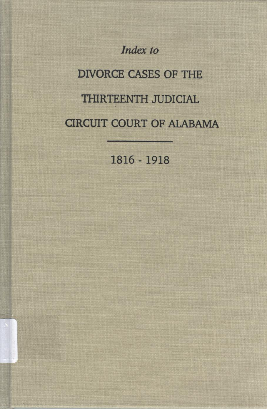 List of Useful Court References