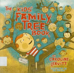 the kids family tree book_book cover
