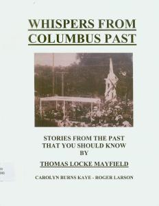 whispers from columbus past book cover