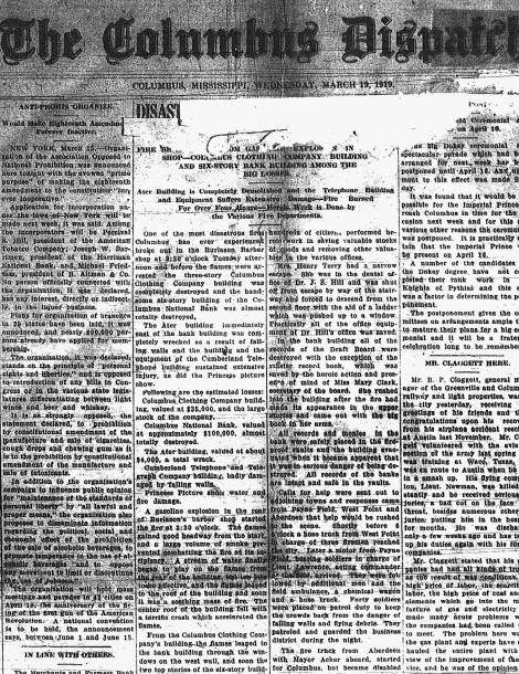 March 19 1919 page 1.1