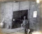 """Uncle Pat"" at the Columbus Compress Company, 1903."